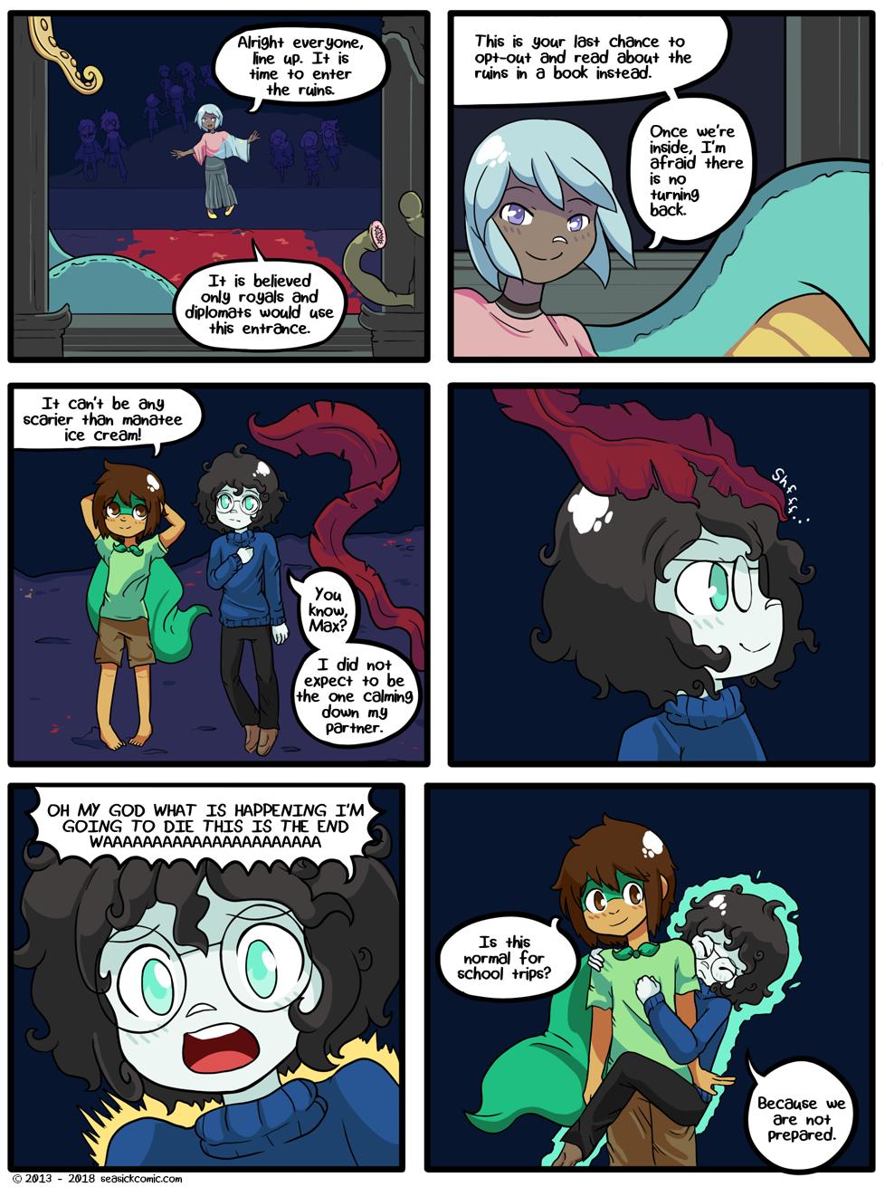 Seasick the underwater adventure comic, chapter two page twelve