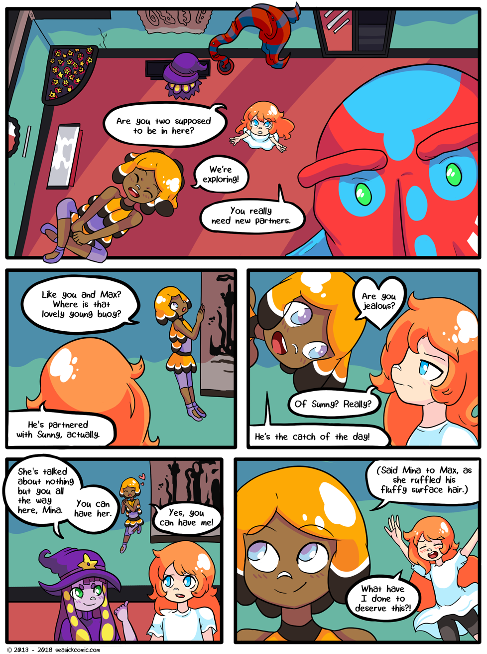 Seasick the underwater adventure comic, chapter two page fourteen