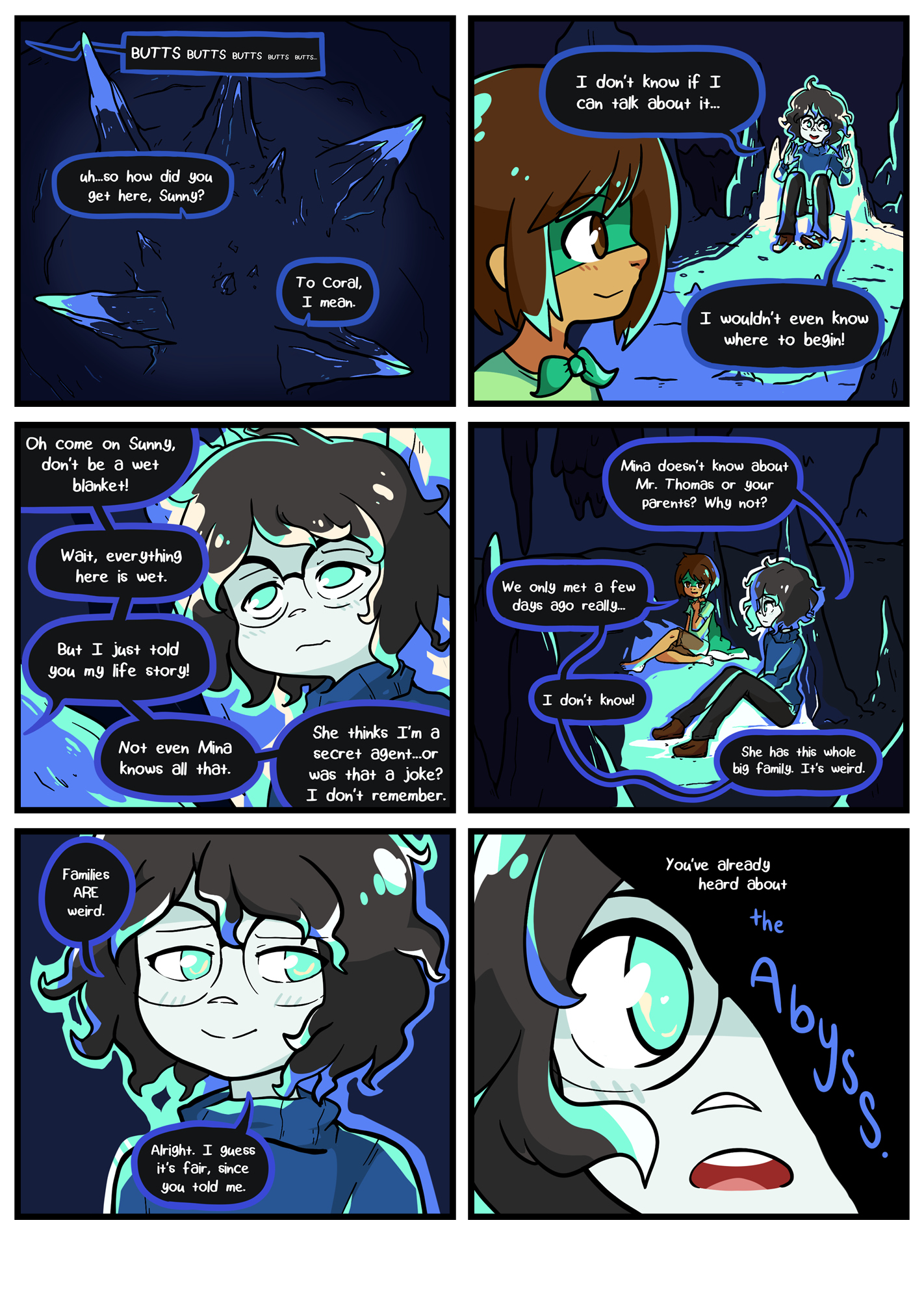 Seasick the underwater adventure comic, chapter 2 page 55 full page