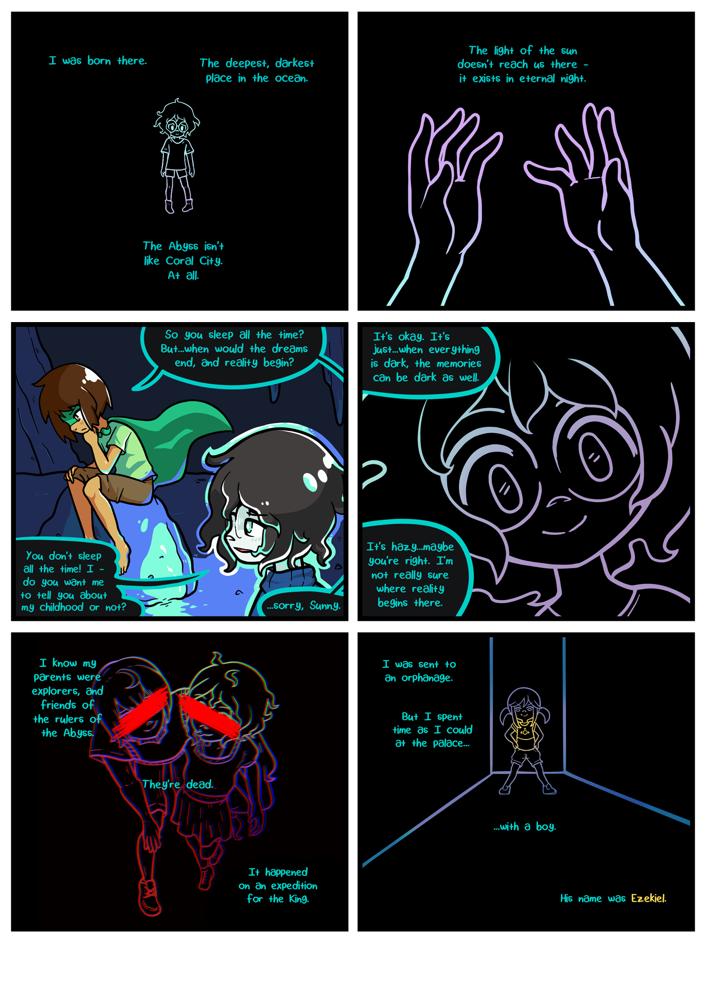 Seasick the underwater adventure comic, chapter 2 page 56 full page