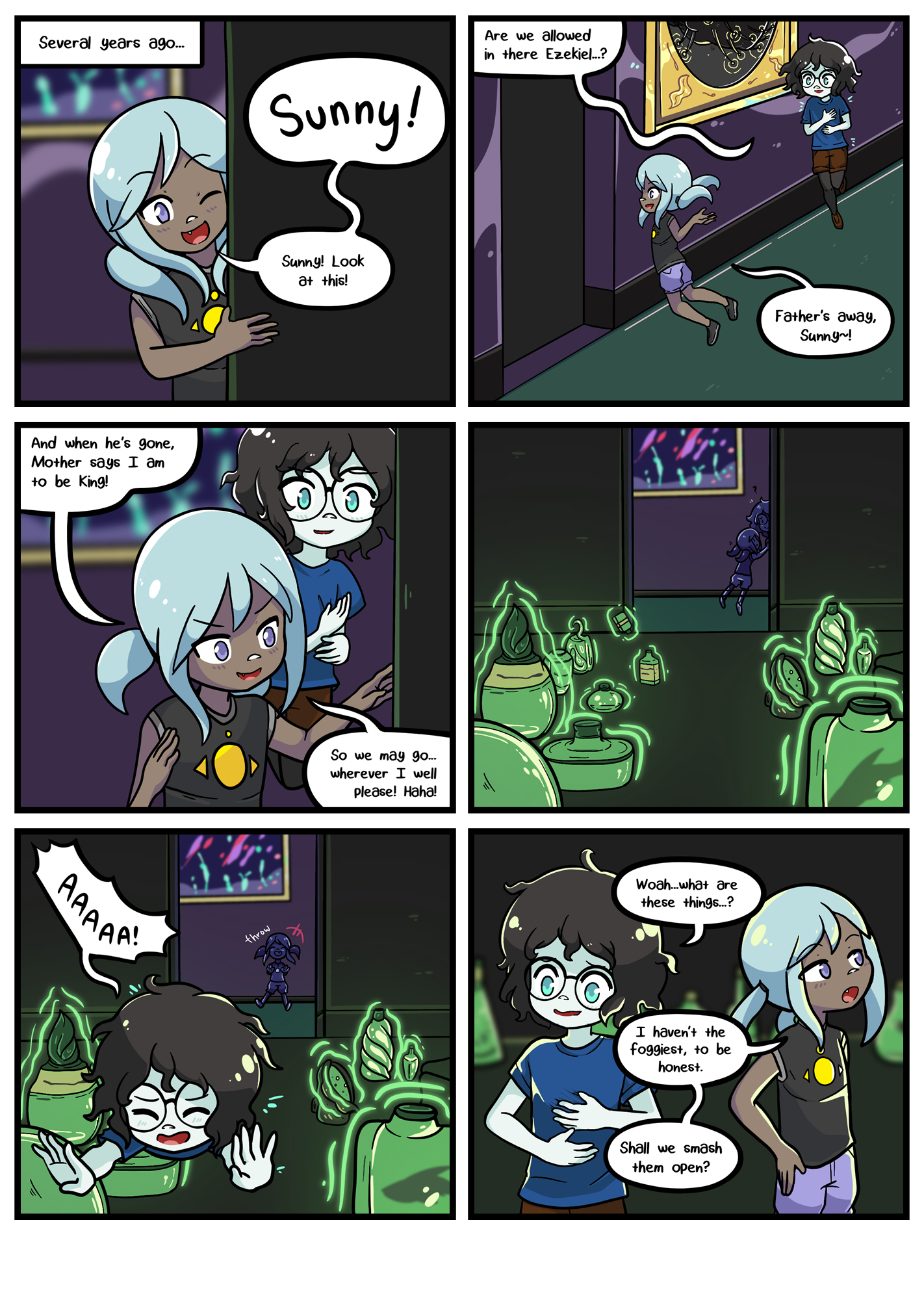 Seasick the underwater adventure comic, chapter 2 page 58 full