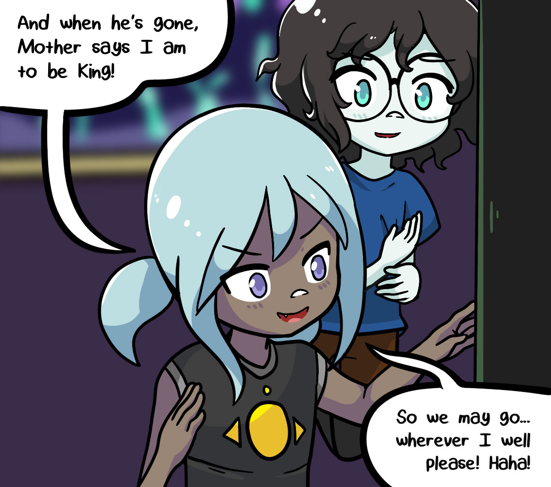 Seasick the underwater adventure comic, chapter 2 page 58 panel 3