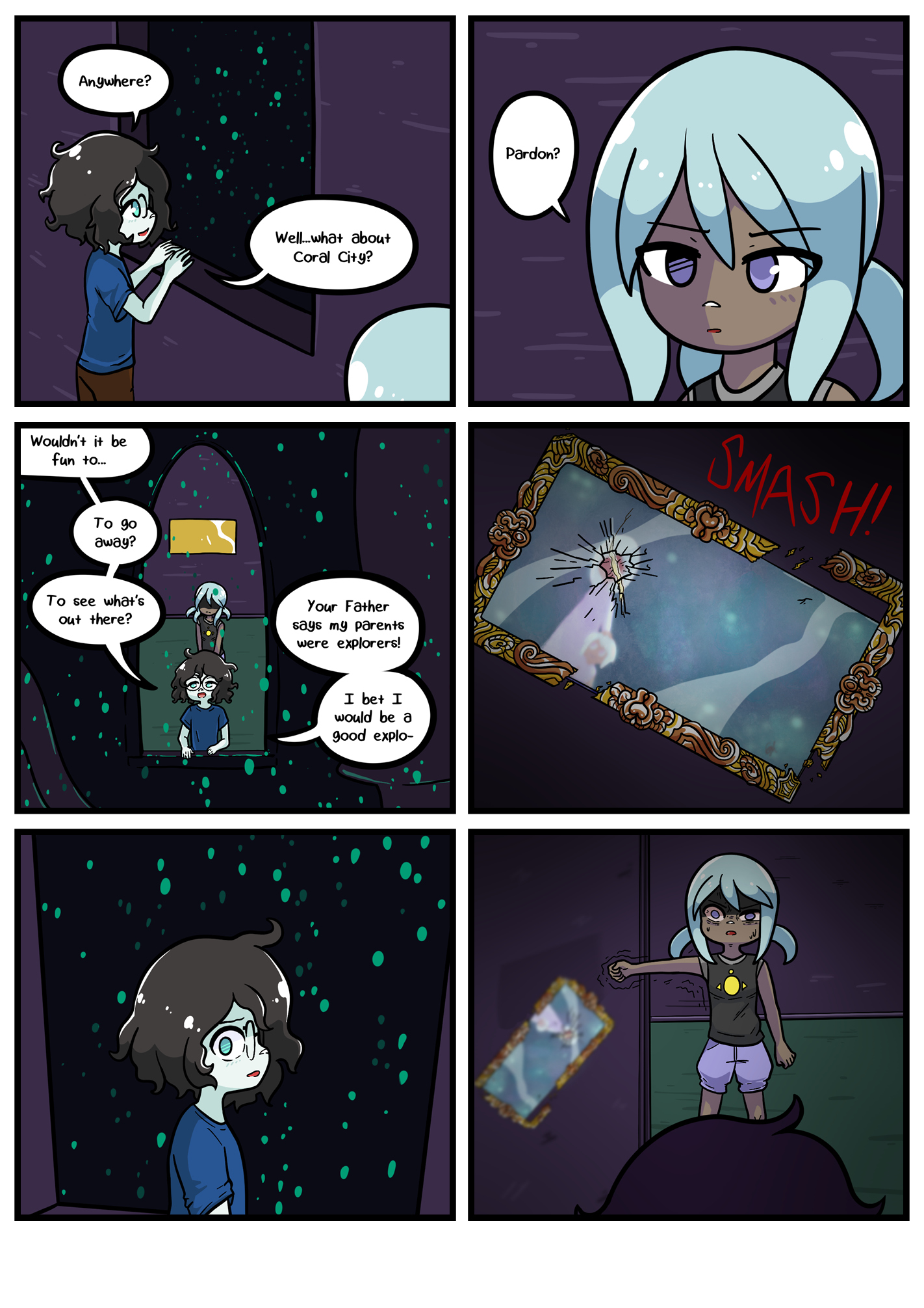 Seasick the underwater adventure comic, chapter 2 page 60 full