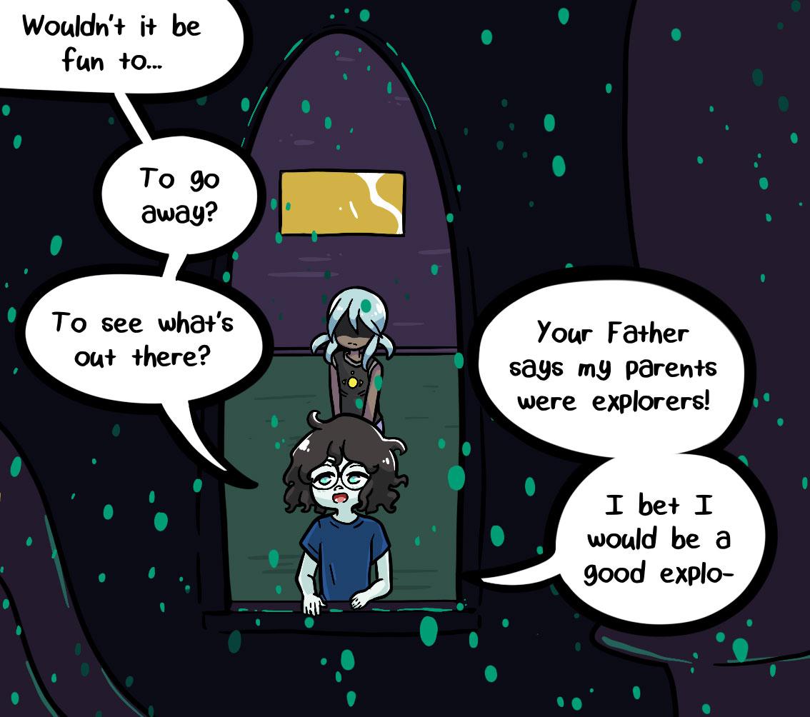 Seasick the underwater adventure comic, chapter 2 page 60 panel 3