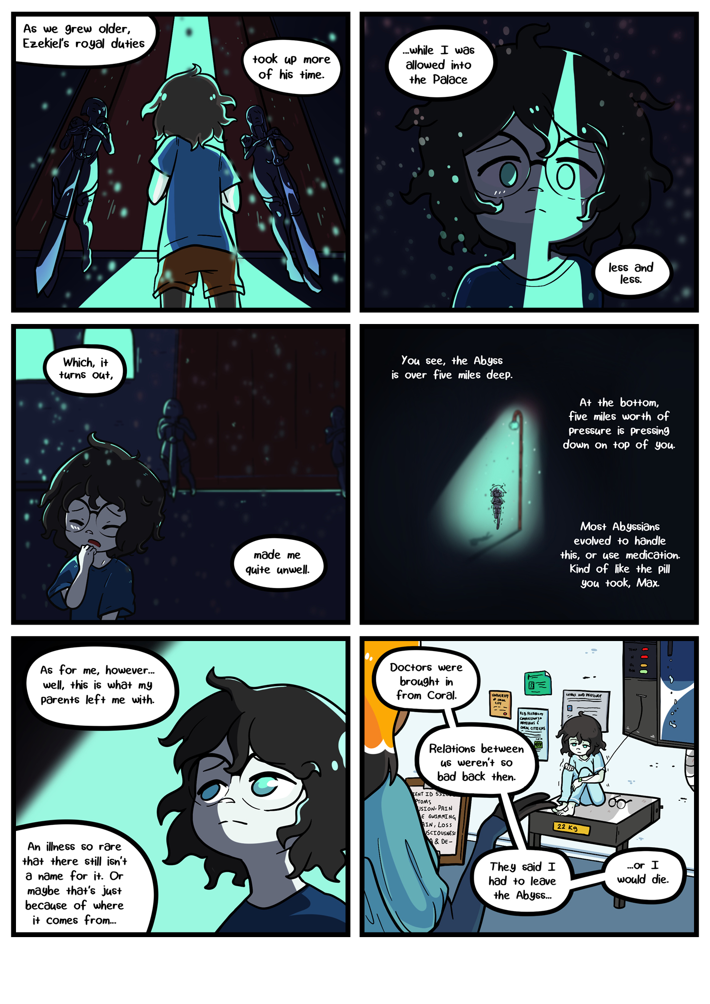 Seasick the underwater adventure comic, chapter 2 page 62 full