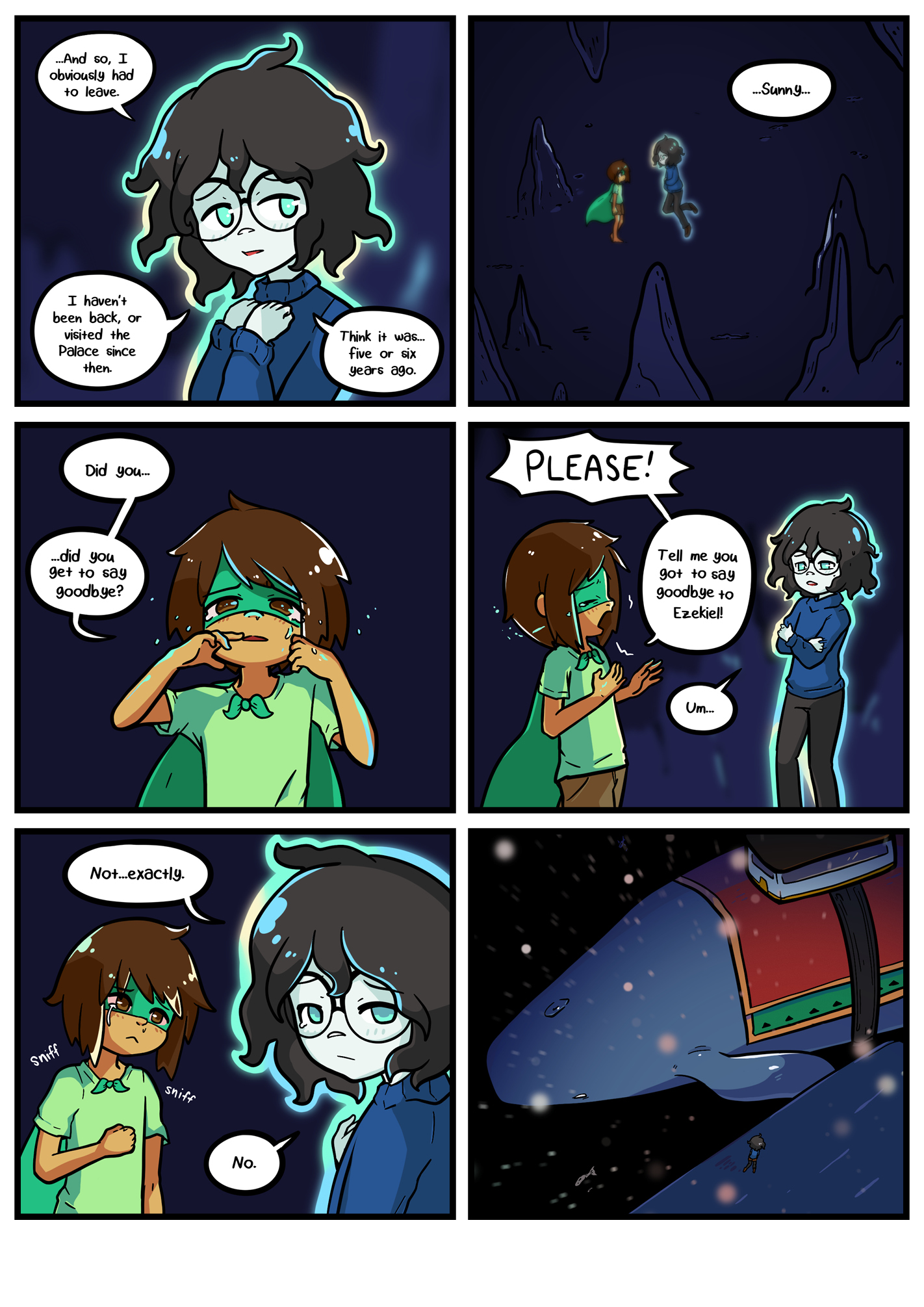 Seasick the underwater adventure comic, chapter 2 page 63 full
