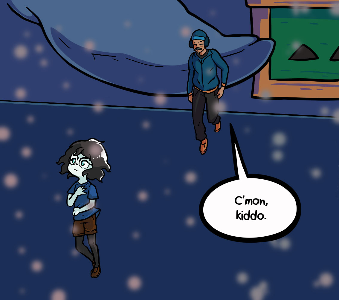 Seasick the underwater adventure comic, chapter 2 page 64 panel 1