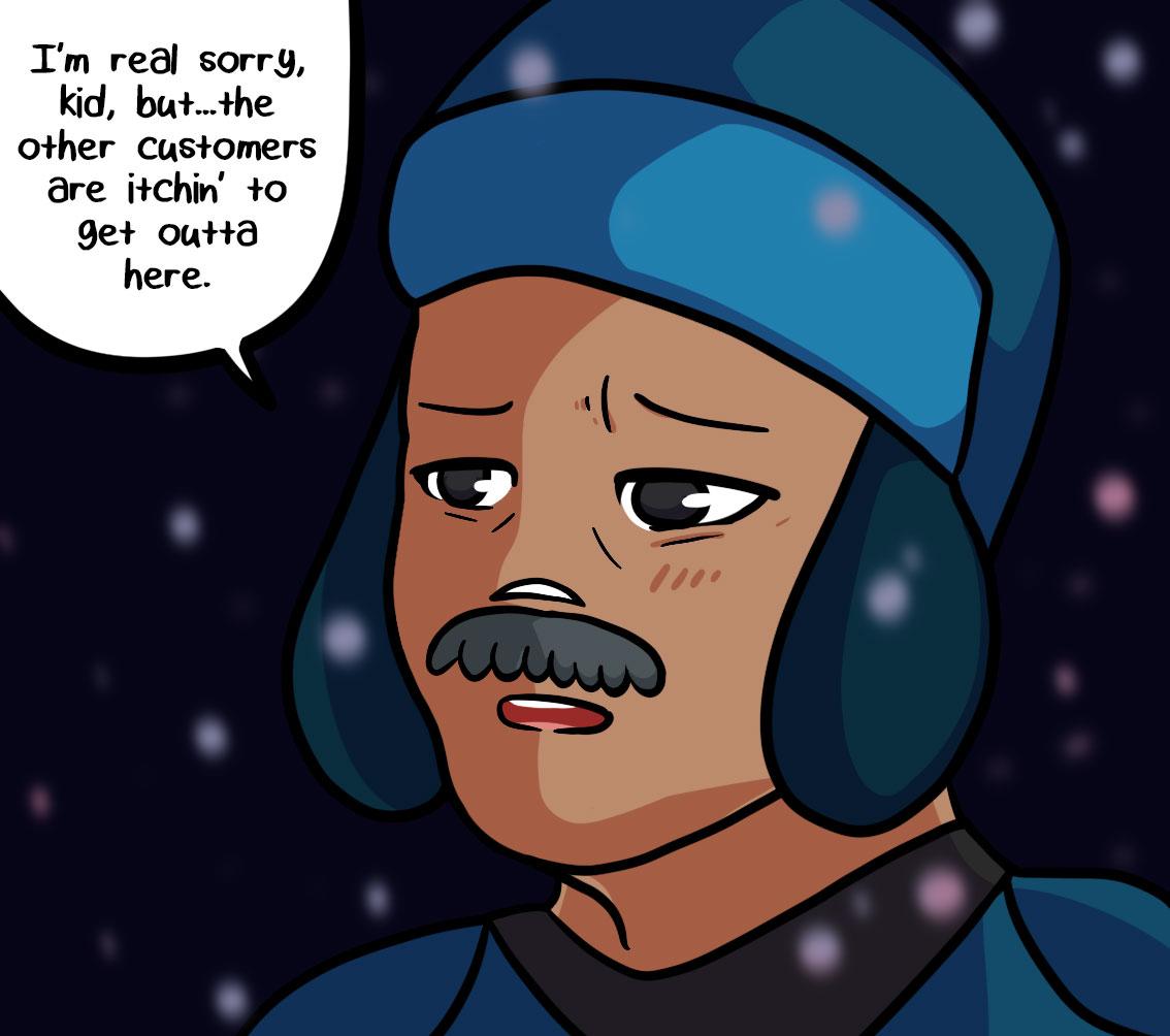 Seasick the underwater adventure comic, chapter 2 page 64 panel 4
