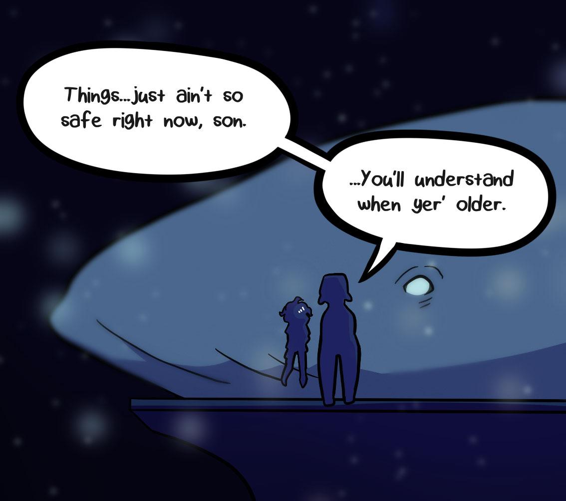 Seasick the underwater adventure comic, chapter 2 page 64 panel 5
