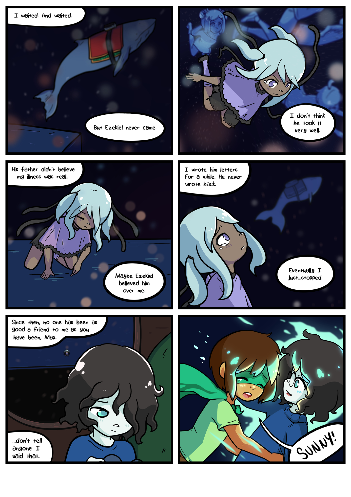 Seasick the underwater adventure comic, chapter 2 page 65 full